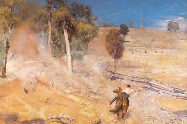 Tom Roberts (1856 – 1931)Painted: 1891Location: Art Gallery of South AustraliaOriginal Size: 1680mm x 1370mmReproduction Size: 1680mm x 1370mm