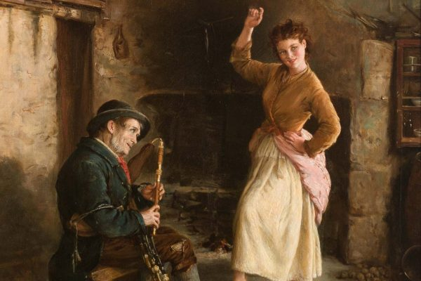 William Oliver (1825–1901)Painted: 1874Location: Ireland's Great Hunger MuseumOriginal Size: 630mm x 760mmReproduction Size: 630mm x 760mm