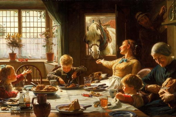 Frederick George Cotman (1850 - 1920)Painted: 1880Location: Walker Art Gallery, LiverpoolOriginal Size: 1700mm x 1020mmReproduction Size: 1700mm x 1020mm