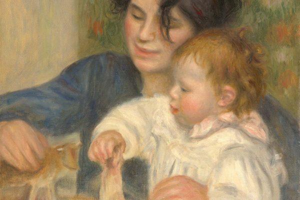 Pierre-Auguste Renoir (1841–1920)Painted: 1895 - 1896  Location: Musée de l'Orangerie, FranceOriginal Size: 540mm x 650mmReproduction Size: 540mm x 650mm