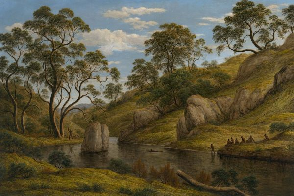 John Glover (1767–1849)Painted: 1837Location: National Gallery of AustraliaOriginal Size: 1350mm x 960mmReproduction Size: 1350mm x 960mm