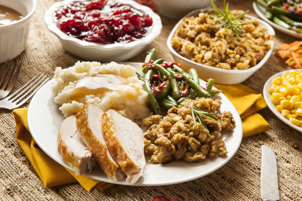 Carrington Inn's 2017 Thanksgiving Menu