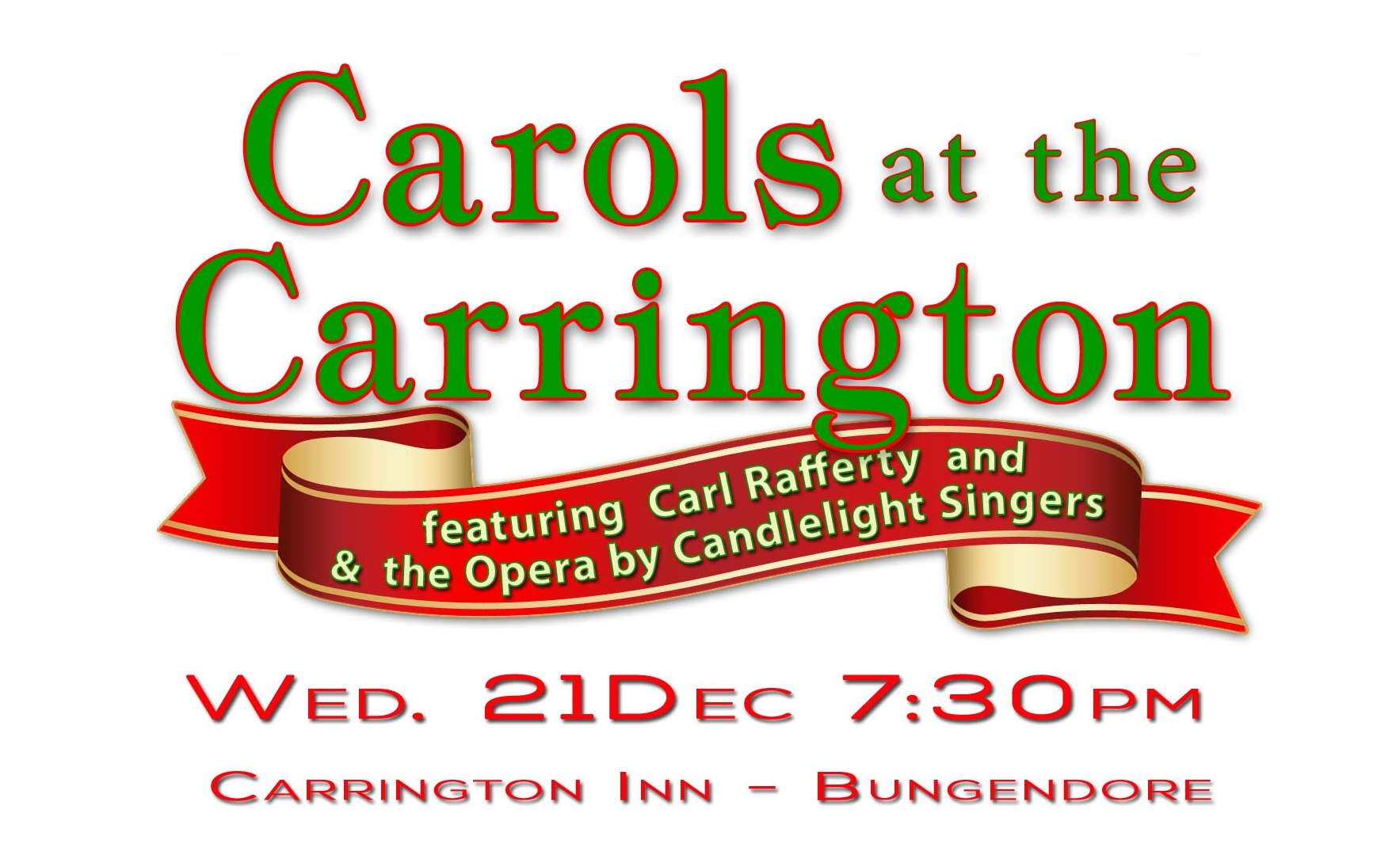 Carrington Inn Announces Evening of Carols