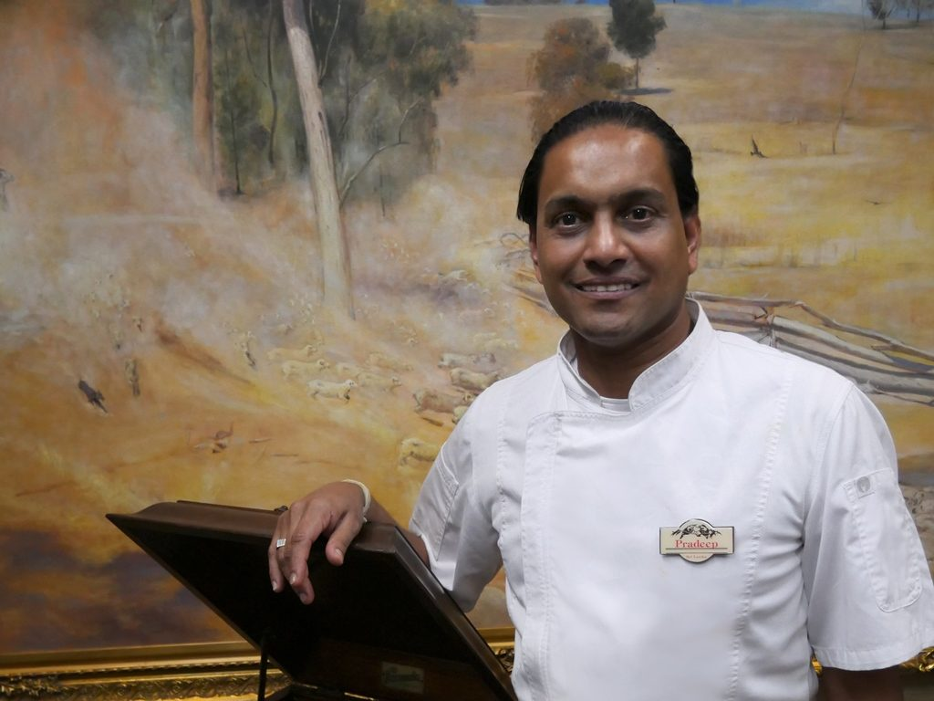 Carrington Inn - Bungendore Head Chef Pradeep Manupriya