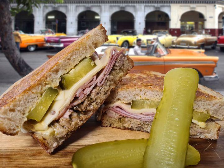 CWE Cuban Sandwich